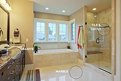 Seal It Green Xtreme Grout and Granite Sealer-Eco Friendly Deep Penetrating Protectant-No More Mold, Mildew Or Food Stains, for Those Who Like Clean Surfaces But Hate to Clean Them. Protects for Yrs.