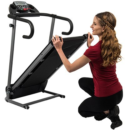 AuWit 1100W Series Electric Motorized Folding Treadmill (Black) by AuWit (Image #7)