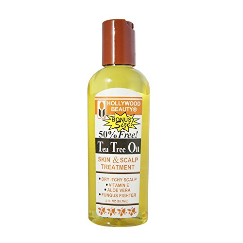 Hollywood Beauty Tea Tree Oil Skin & Scalp Treatment, 3 oz