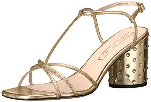 Sandal Gold Sheena Women's Strap Heeled Jacobs Marc 6ZqXff