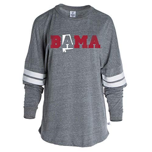 Official NCAA Alabama Crimson Tide Halloween Women's Striped Oversized -