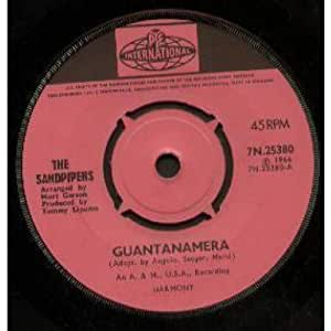 Guantanamera 7 Inch Uk Pye 1966 Sandpipers Amazon Es M 250 Sica