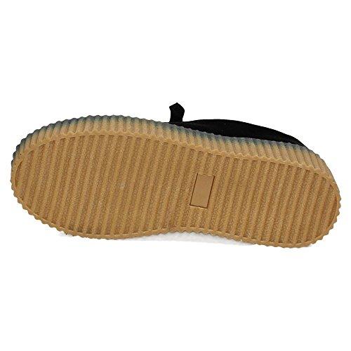 Zapatillas Taupe Negro Taupe XTI Negro Zapatillas XTI Tela Zapatillas Tela xBEtqt
