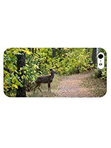 3d Full Wrap Case for iPhone 5/5s Animal Deer98