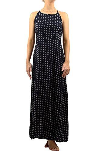Superdry Damen Kleid Blau Navy Ikat Dot