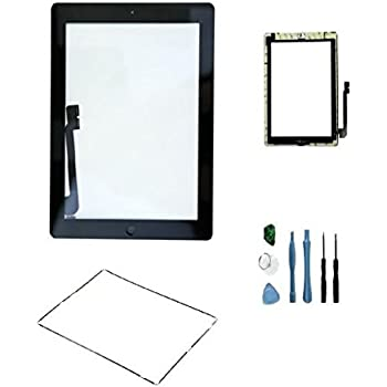 Amazon sellicase ipad digitizer glass diy do it yourself sellicase ipad digitizer glass diy do it yourself screen repair kit with frame bezel solutioingenieria Image collections