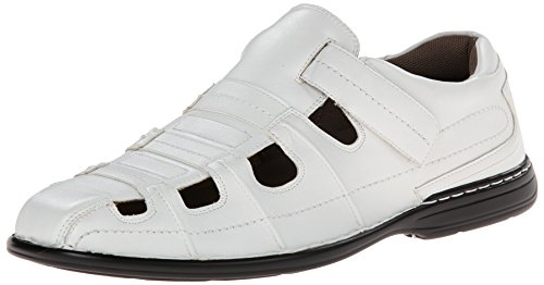 Adams White Stacy Belmar Fisherman Men's Sandal PddYqaw