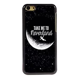 HP Take Me to Never land Design Aluminum Hard Case for iPhone 5C