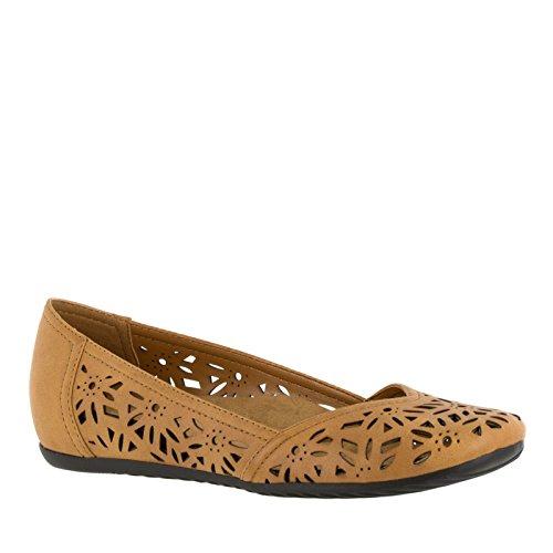 Easy Street Charlize Grande Fibra sintética Zapatos Planos