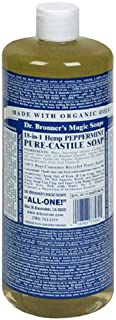 product image for Dr. Bronner's Magic Soaps Pure-Castile Soap, 18-in-1 Hemp Peppermint, 32-Ounce Bottles (Pack of 2)