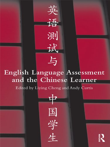 English Language Assessment and the Chinese Learner Pdf