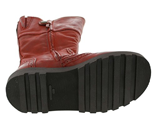 Bisgaard 60301 215 87 Stiefel Leder rot Rust
