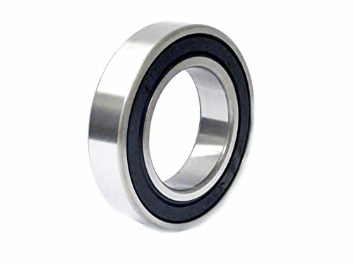 7 Mm Bearing Bushing (C&U 607 2RS M3 Miniature Ball Bearing, ABEC 1 Precision, Double Sealed, Steel Cage, M3 Clearance, 7mm Bore, 19mm OD, 6mm Width, .91KN Static Load Capacity, 2.24 KN Dynamic Load Capacity)