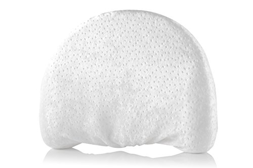 Head Shaping Baby Memory Foam Pillow with Extra-Soft Organic Pillowcase   Anti-Flat Head Cushion for Newborn   Antibacterial & Hypoallergenic Cover   Unisex Flathead Pillow