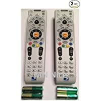 RC65RX 2 Pack NEW DirecTV Remote RC65RX HD/DVR HR24 HR34 H24 H25 RF/IR + 2AA BATTERIES