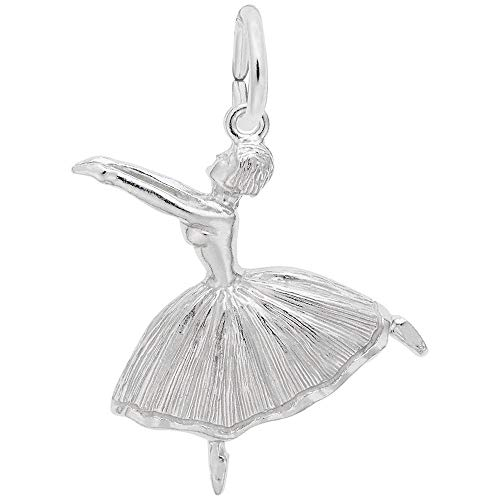 Rembrandt Charms, Ballet Dancer.925 Sterling Silver
