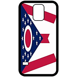 Ohio OH State Flag Black Samsung Galaxy S5 Cell Phone Case - Cover