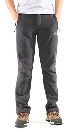 KORAMAN Mens Insulated Water-resistant Pants Windproof Warm-
