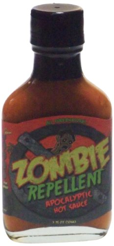 Original Juan Zombie Repellent Apocalyptic Hot Sauce