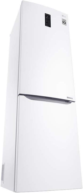 LG GBB60SWMFS nevera y congelador Independiente Blanco 343 L A+++ ...
