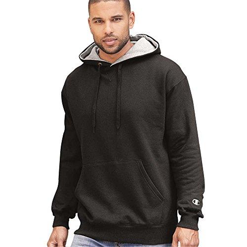 Champion - Cotton Max Hooded Sweatshirt - - Champion Cotton Sweatshirt
