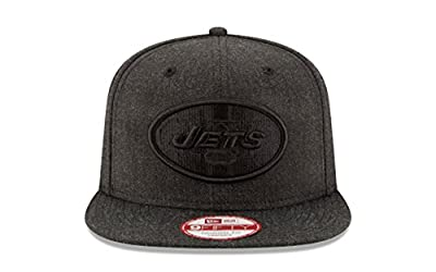 New Era 9FIFTY New York Jets Heater Basic Adjustable Snapback Hat from New Era
