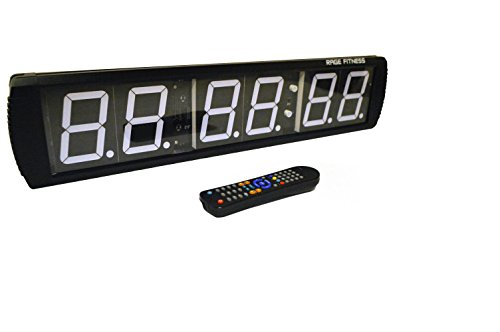 RAGE Fitness 6-Digit Clock by Rage Fitness