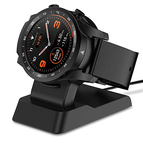 Myriann Ticwatch Pro Charger Stand, Replacement Charging Stand Charging Cradle Dock Adapter Holder Compatible for Ticwatch Pro