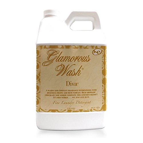 TYLER DIVA Glamorous Wash Laundry Detergent - Half Gallon/ 64oz - (With BONUS PEARSONS STAIN REMOVER PEN)