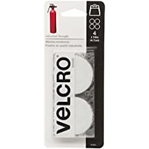 "VELCRO Brand - Industrial Strength - 1 7/8"" Coins, 4 Sets - White"