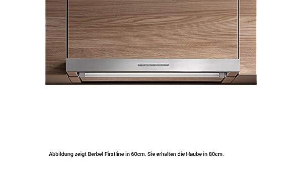 Berbel Firstline BEH 80 FL - Campana extractora de acero ...