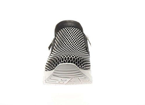 argento argento Senza 00 Donna 77762 Nero Scarpe Basse amp;co Igi Sneakers Lacci Nero qp7vwRWXa