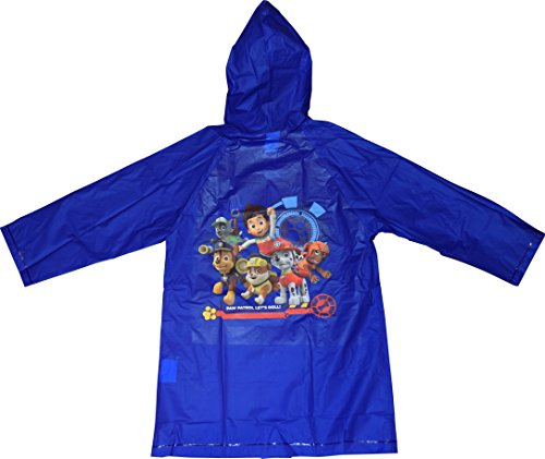 Nickelodeon Paw Patrol Boy's Raincoat (X-Large 7-8)