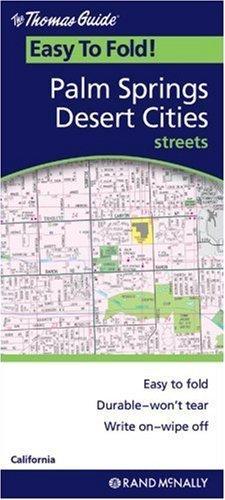 Palm Springs/Desert Cities (Rand McNally Easyfinder) by Rand McNally - Mall Palm Desert Shopping
