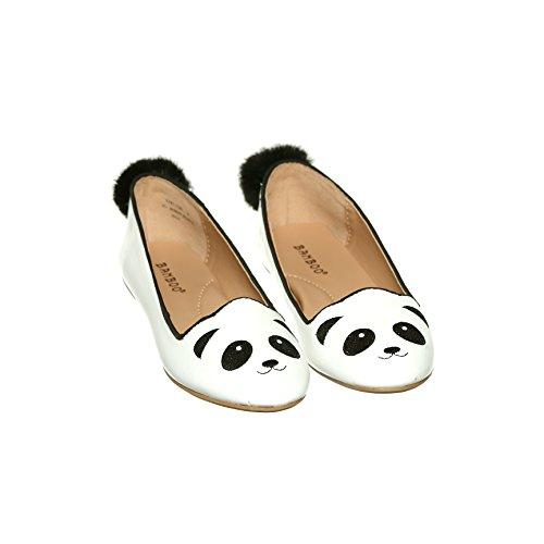 Shoewhatever Ny Stil !! Kvinners Søte Dyr Dagdriver Slip-on Flat Sko Panda
