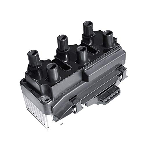 LQQDP New Ignition Coil Pack 6 in 1 For VW Corrado Golf Jetta Passat Eurovan 2.8L V6 Compatible with 021 905 106