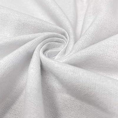 Tela de franela de algodón de 114,3 cm de ancho, suave, cálido ...