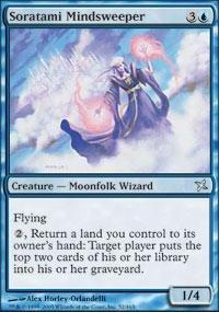 Magic: the Gathering - Soratami Mindsweeper - Betrayers of Kamigawa - Foil - Soratami Foil
