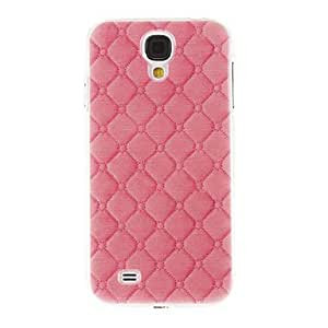 MOM Pink Leather Pattern Plastic Protective Hard Back Case Cover for Samsung Galaxy S4 I9500