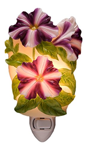 Petunia Night Light - Ibis & Orchid Flowersa of Light Collection (Petunia Orchid)
