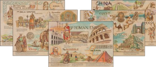 Carson Dellosa Mark Twain Ancient Civilizations and Cultures Topper Bulletin Board Set (410014)