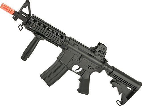 Evike - CYMA Full Size M4 CQB Airsoft Spring Powered - Marui M4 Ris