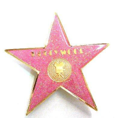 Pink Glitter Hollywood Walk of Fame Star Magnet for $<!--$5.99-->
