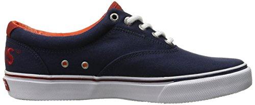 Sperry Top-sider Mens Striper Ll Cvo Shark Attack Fashion Sneaker Blu Marino