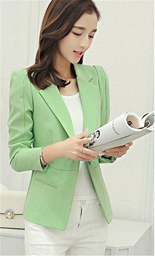 Ol Femme Jothin Jacket D'affaires De Veste Manche Élégant Vert V gvb6f7Yy
