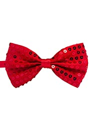 RUOYUCL Boys Sequins Bowties Unisex Performance Bow Tie Korean Style