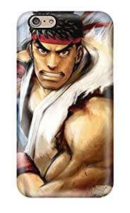 Durable Protector Case Cover With Video Games Ryu Street Fighter Iv Fresh New Hot Design For Iphone 6