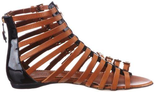 Sebastian WOMANS SHOE S5215 VENE+VACU - Sandalias clásicas de tela para mujer Negro