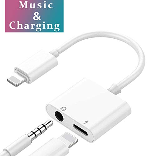Lightning Adapter Headphone Jack Dongle for iPhone 7/7Plus 8