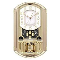 New Haven Gold Music Wall Clock